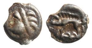 Monnaie-antique-Gauloise-potin