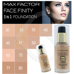 max factor facefinity 3 in 1