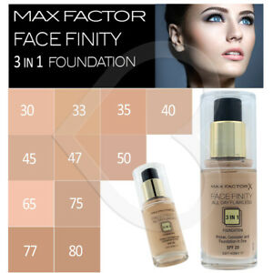 max factor 3 in 1 foundation