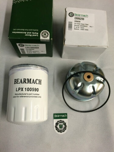 LPX100590R ERR6299 Bearmach Defender or Discovery 2 TD5 Oil /& Rotor Filter Kit