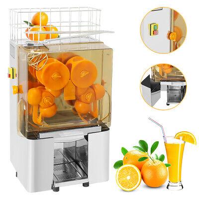 Electric Commercial Orange Juicer Squeezer Juice Machine Stainless Steel 220V | eBay