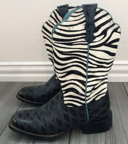 Ariat Women's Quickdraw Western Boots Anteater Ze… - image 1