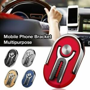 2in1-Phone-Ring-Finger-Holder-Car-Mount-Hook-iPhone-Stand-Mobile-Grip-GPS-AU