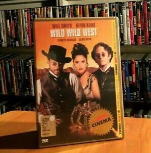 WILD WILD WEST (1999) WILL SMITH KEVIN KLINE Barry Sonnenfeld DVD COME NUOVO