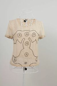 US-Size-4-034-Topshop-034-Gorgeous-Ladies-Short-Sleeve-Top-Great-Condition-Bargain