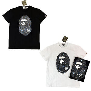 Men-039-s-Bape-t-shirt-A-Bathing-Ape-shirt-US-size