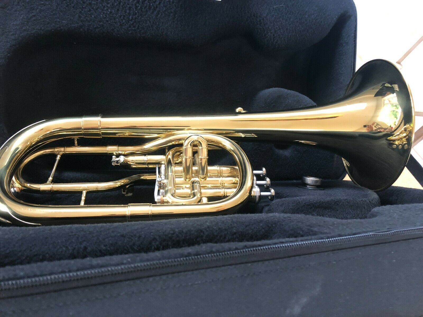 Catelinet CTH12 Tenor Horn Brass Includes Case and Mouthpiece - Free Delivery