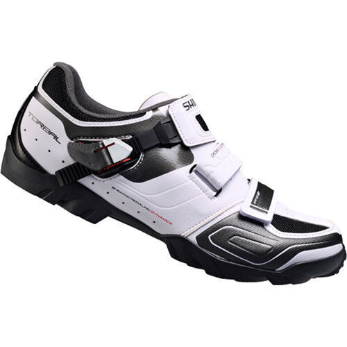White Shimano SH-M089 Upgraded SH-M088 Cycling shoes MTB Mountain Bike Shose