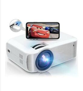 TOPVISION Mini Beamer Projektor HDMI 5500 Lumen Heimkino Full HD 1080P NEU