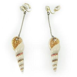 Swarovski-orecchini-donna-originali-clip-con-pendente-conchiglia-894885