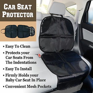 Auto Car Seat Protector Cover for Children Kids Babies Kick Mat Back ...