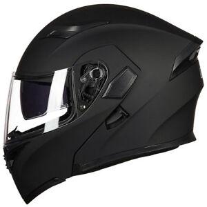 Motorcycle-Helmet-With-Bluetooth-Headset-Modular-Flip-Up-Motorbike-Helmets-DOT