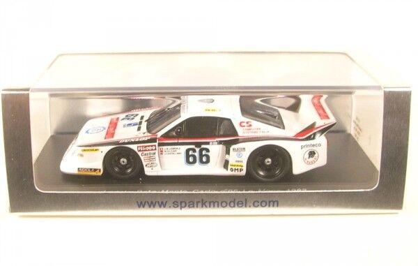 Lancia Beta Monte Carlo no.66 LeMans 1982 (J M.Lemerle - J.Castellano M