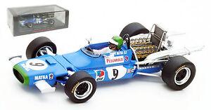 SPARK-S4358-MATRA-MS11-9-Mexican-GP-1968-Henri-Pescarolo-echelle-1-43