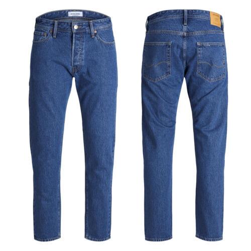 JACK /& JONES JJI FRED ORIGINALS CR 098 Jeans Blue Denim Tapered Fit 12146667