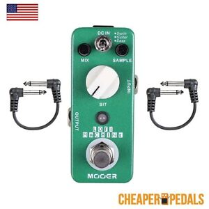 Details about NEW MOOER LOFI Lo Fi Sample Reducing Pedal+ 2 FREE Patch  Cables & FREE Shipping!