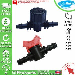 Autopot Inline Tap - 6mm / 16mm - Qty: x1/x10/x5/x20/x50