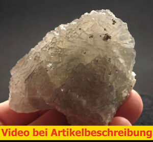 6105 Fluorite Fluorit 6*6*4 cm Grube Hermine 1980 Wölsendorf Bavaria BRD  VIDEO