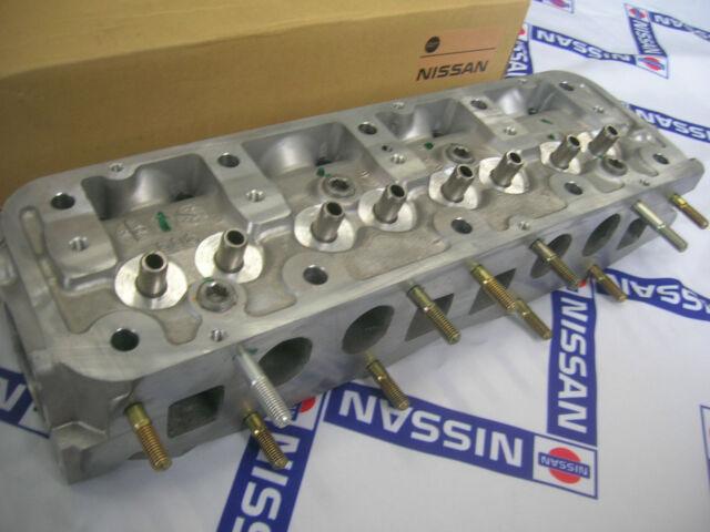 DATSUN 1200 Oval Cylinder Head H75 Genuine (For NISSAN B10 B110 B310 A14 A15)