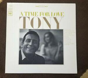 Vintage-1966-Tony-Bennett-034-A-Time-For-Love-034-LP-Columbia-CS-9360-NM