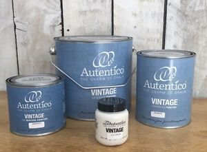 Autentico-Vintage-Paint-Blues-amp-Greens-Free-Postage-Testers-500ml-1L-2-5-litres