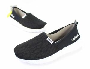 nuove dimensioni 9 adidas neo women's black white cloudfoam lite racer.
