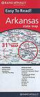 Arkansas State Map by Rand McNally & Company (Sheet map, folded, 2010)