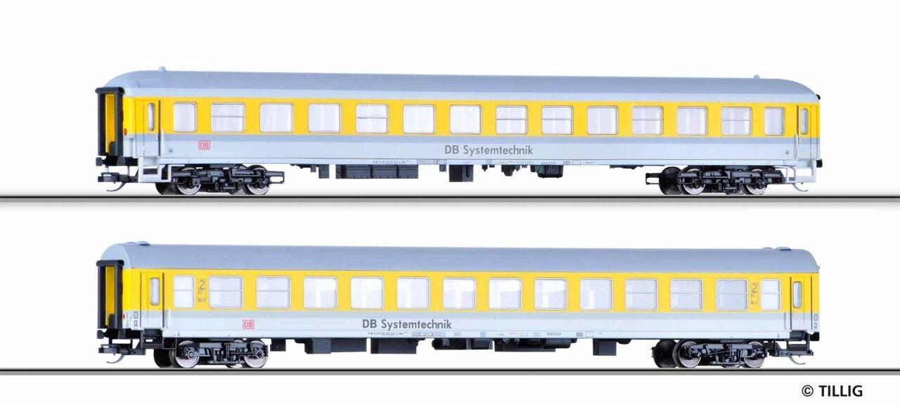 SH Tillig 01686 Wagenset sistema tecnica della DB