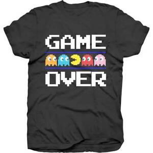 Pac-Man-Game-Over-Official-Merchandise-T-Shirt-M-L-XL-NEU