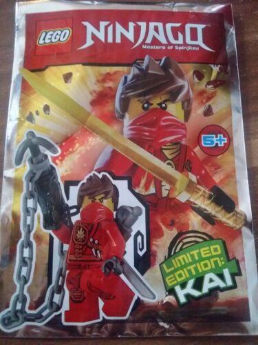 LEGO Minifiguren Lego Ninjago Figur Kai Limited Edition Baukästen & Konstruktion