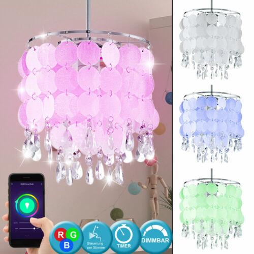 Smart Home Leuchte RGB LED Pendel Decken Lampe IOS Google Android Alexa Wifi APP