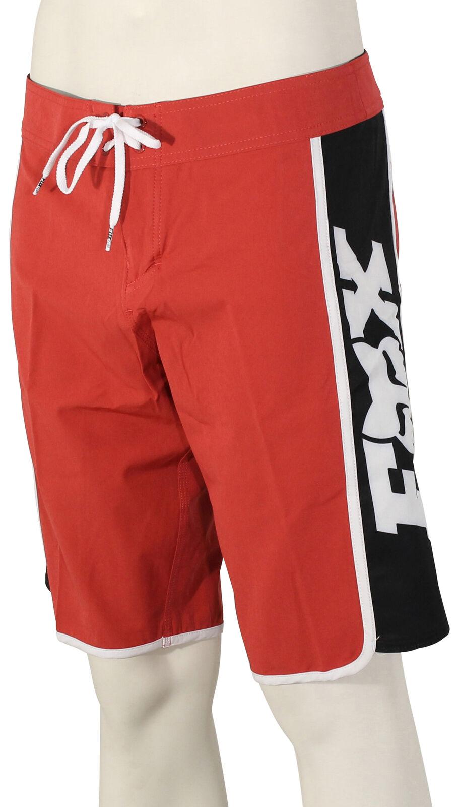 Fox Race Team Stretch Boardshorts - Rio Red - New