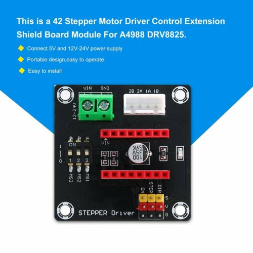 3D Printer 42 Stepper Motor Driver Control Extension Board Module 8825//A4988 KW