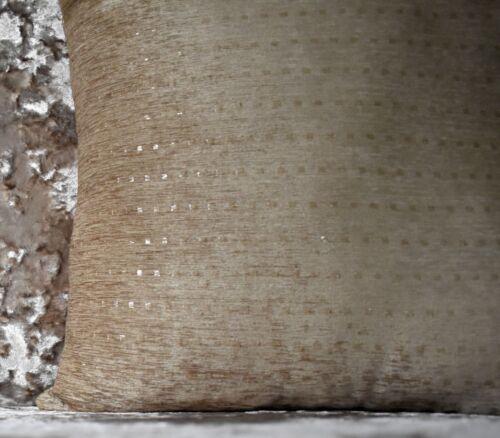 "Cushion cover or cushion soft velour velvet effect DOTS Chenille  17/"" x 17/"""