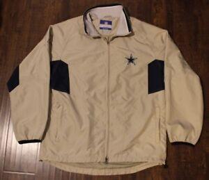 hot sale online 2e93c d5ba7 Details about Reebok Dallas Cowboys NFL Apparel Lightweight Winter Jacket  Coat Mens Sz Medium