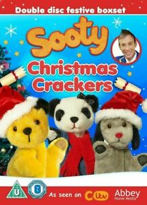 Sooty-Christmas-Crackers-2-x-DVD-Box-Set-Brand-New-amp-Sealed