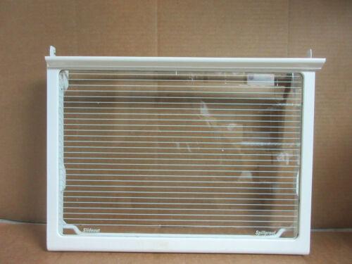 GE Refrigerator Glass Shelf in Frame Part # WR71X2407 WR32X1402