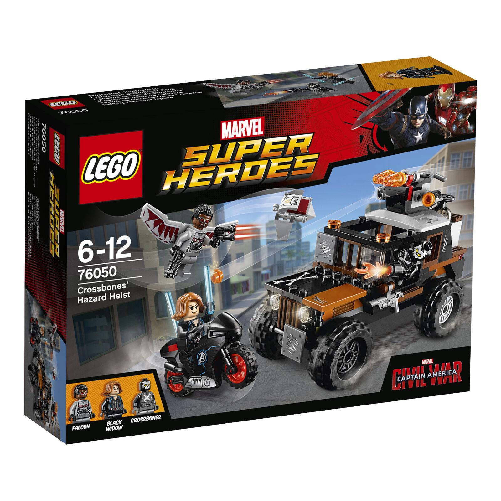 LEGO ® Marvel Super Heroes 76050 Crossbones dangereux vol Nouveau neuf dans sa boîte New En parfait état, dans sa boîte scellée