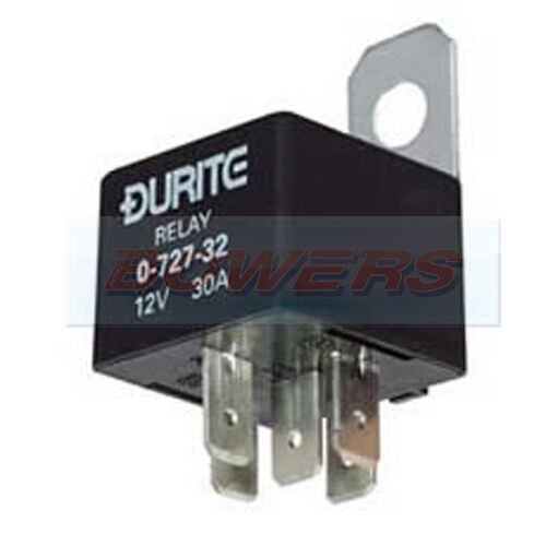 DURITE 0-728-62 5 PIN MINI CHANGE OVER RELAY 12V 20//30A AMP A TYPE TERMINALS