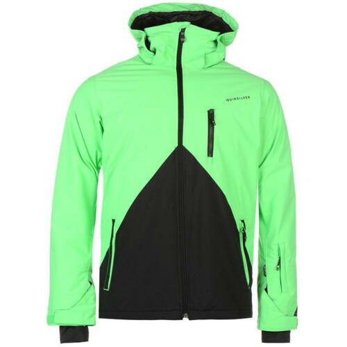 Mens Mission Size Block Xs Jacket Snow Colour J314~ Ref Quiksilver 7XWqadHSS