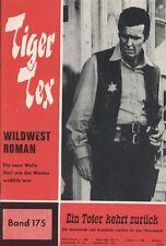 "TIGER Tex n. 175 *** condizioni 1-2 *** ""Hessel"""