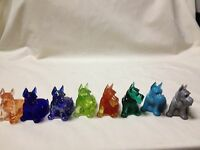 Boyd Glass Charlie Scottie Dog-choice Of Colors Price &shipping Reduced
