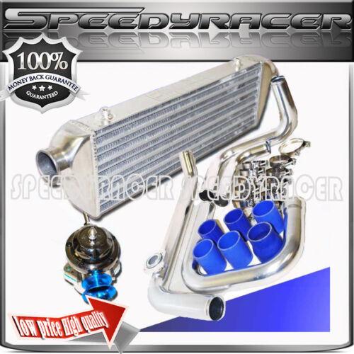 Intercooler Piping Pipe Kit For 90-01 Acura Integra Honda Civic Si D B15 16 18