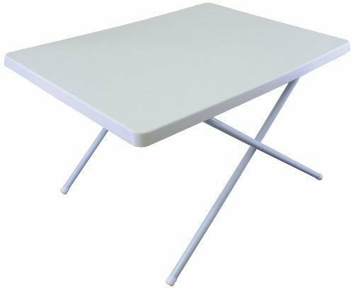 Milestone White Folding Portable Camping Picnic Outdoor Dinner Dining Table   low-key luxury connotation