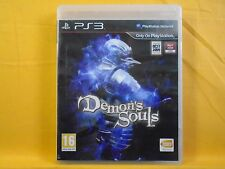 ps3 DEMONS SOULS A Strategic RPG Game Playstation PAL UK Version Demon's