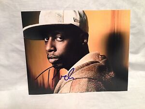 Talib-Kweli-SIGNED-AUTOGRAPHED-8X10-PHOTO-BLACK-STAR-COA-WOW-C