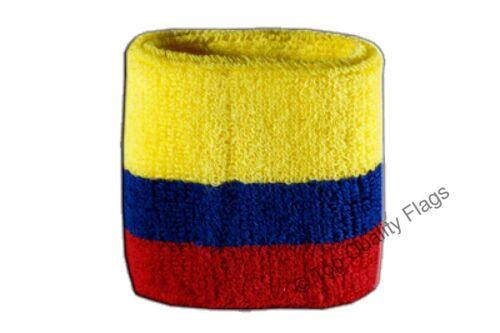 WRISTBAND Colombia Flag SWEATBAND 7x8cm