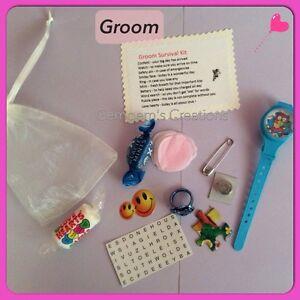 ... of the Bride / Groom survival kit, lovely wedding keepsake, gift&card