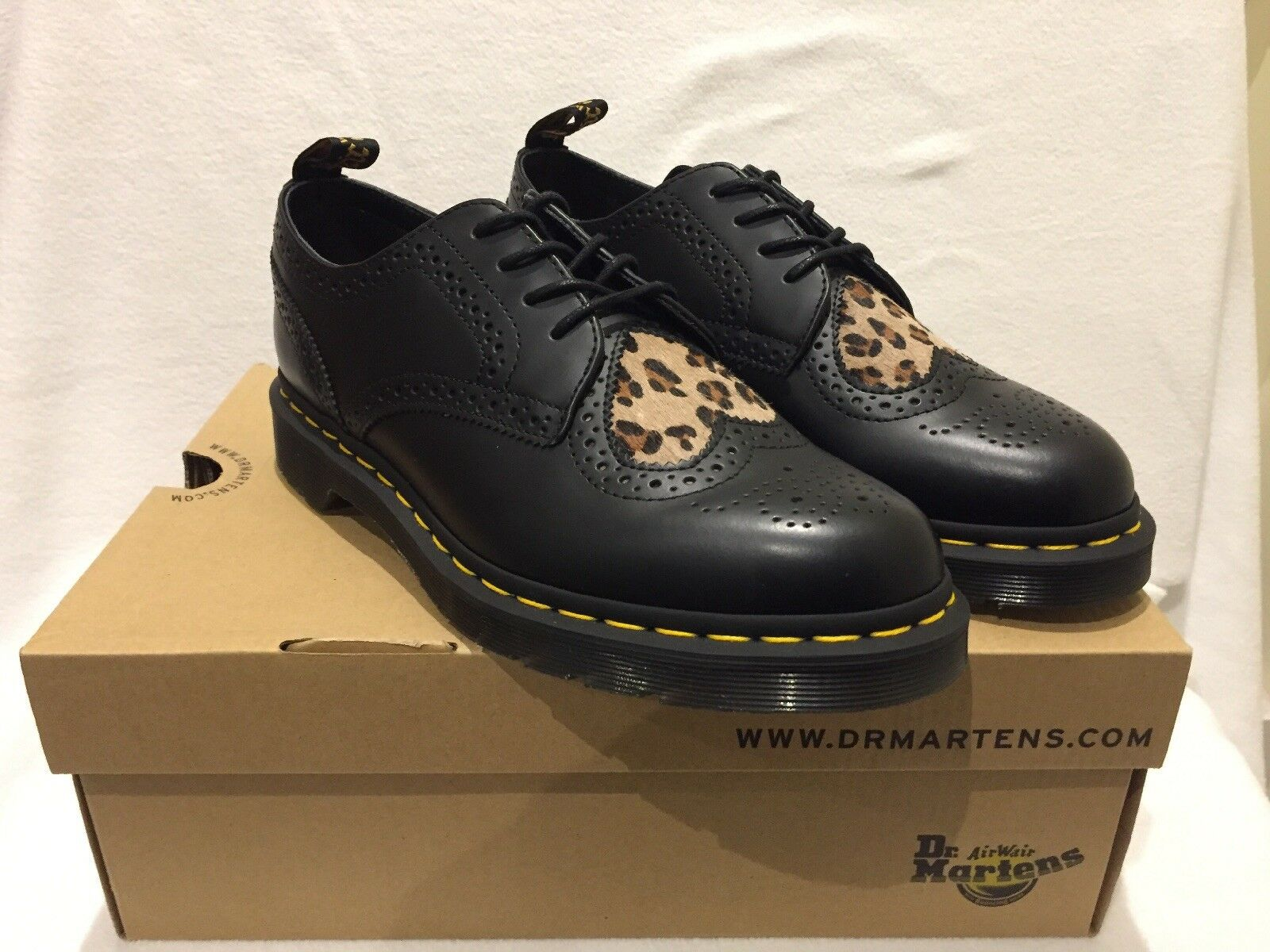 Dr Martens Joyce Joyce Joyce Heart Black Leather shoes Size 9 Uk 02dff2