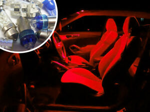 Red-LED-Interior-Bulbs-Kit-Spare-Electric-Part-Replacement-For-BMW-Mini-R56
